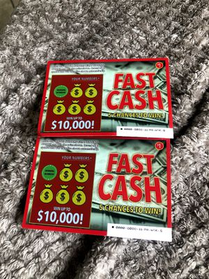 Fake winning lottery tickets 🎫 (Pranks) for Sale in Anderson, SC