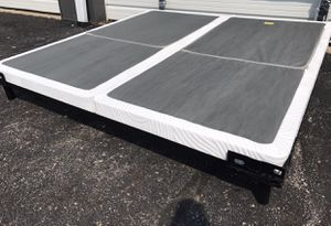 King size split bifold low profile box spring for Sale in Columbus, OH