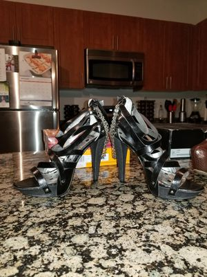 Punk Black high heel shoes Size 8.5 for Sale in Fairfax, VA