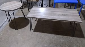 Coffee table and end table for Sale in Dallas, TX