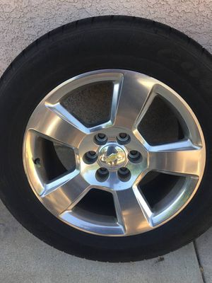 """20"""" Original LTZ Chevy Rims and Tires for Sale in Oxnard, CA"""