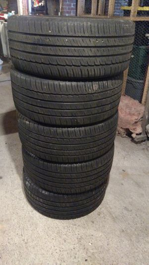235 40-18 set of 5 tires 75% life left for Sale in Clinton, MA