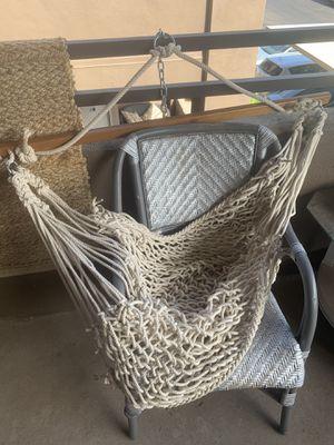 Hammock Macrame Chair for Sale in Scottsdale, AZ