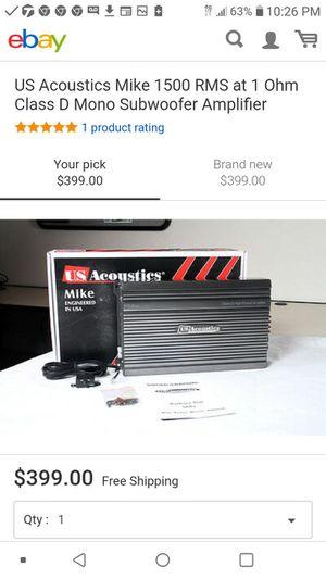 U.S. acoustics USB 2100 amplifier for Sale in Jonesboro, AR