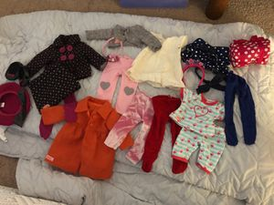 Our generation doll clothes fits American girl doll for Sale in Gilbert, AZ