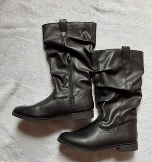 Girls Black Boots Kids Size 3 for Sale in Kissimmee, FL