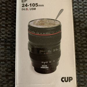 Camera Lens Coffee Cup With Lid for Sale in Boring, OR