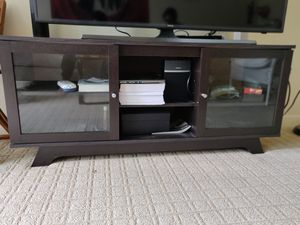 "55"" TV Stand with storage space for Sale in Seattle, WA"