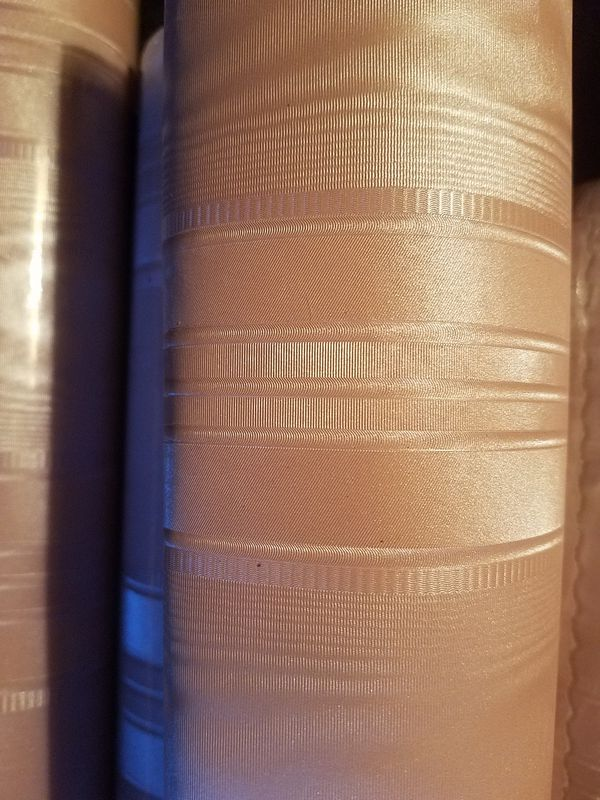 5 rolls (56 sq ft ea) beautiful prepasted rubbable strippable solid vinyl  pink satin wallpaper for Sale in Canterbury, CT - OfferUp