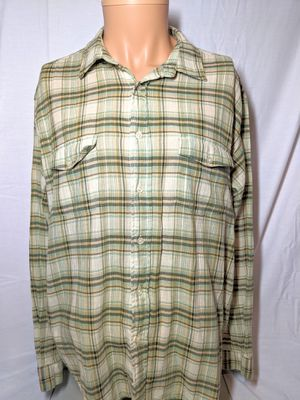 Mens Patagonia Button Front Plaid Shirt sz Large for Sale in Sykesville, MD