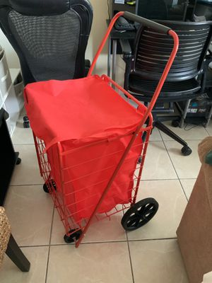 Sandusky folding shopping cart 110 Ib for Sale in Melbourne, FL