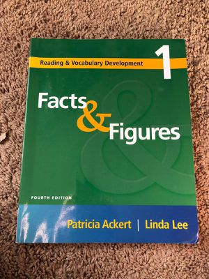 Facts & Figures fourth edition by Patricia Ackert for Sale in Tempe, AZ