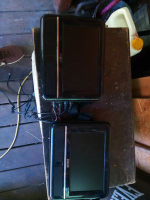 Duel rca portable DVD players for the car for Sale in Douglasville, GA