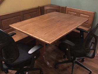 Corner Table With Side Chairs for Sale in Edgewood,  WA