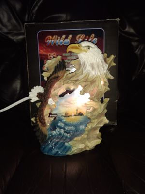 Wild Life Eagle Night Light Statue for Sale in Lancaster, PA