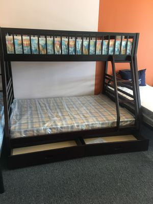 New bunk bed with mattress included $499 for Sale in Nashville, TN