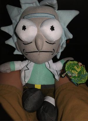 Rick and morty character for Sale in Midland, TX