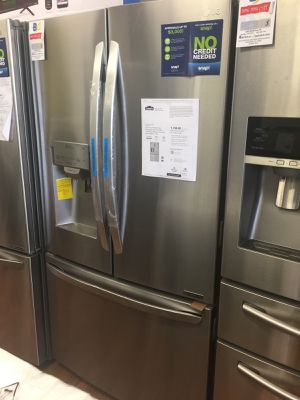 New stain steel Refrigerator for Sale in Houston, TX