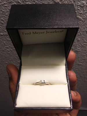 """10K Gold/Gold """"Sierra"""" Diamond Engagement Ring for Sale in Vancouver, WA"""