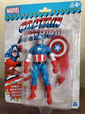 Marvel Legends Retro Collection Captain America for Sale in Artesia, CA