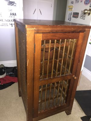 Antique Wine Cabinet for Sale in Anaheim, CA