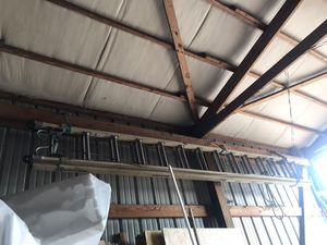 37 foot fiberglass Werner extension ladder for Sale in Lebanon, TN