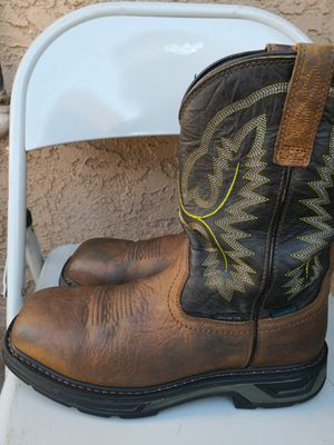 Ariat carbón toe work boots size 9.5D for Sale in Riverside, CA