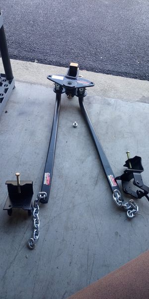 New 10000 pound capacity weight distributing hitch for Sale in Newport News, VA