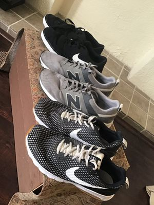 Men's running shoes Nike bundle Nikes lot for Sale in Whittier, CA