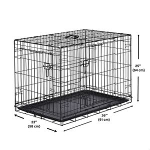 Pet Crate Kennel with Tray for Sale in Naperville, IL