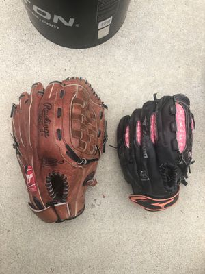 Baseball/ Softball Gloves for Sale in Pico Rivera, CA