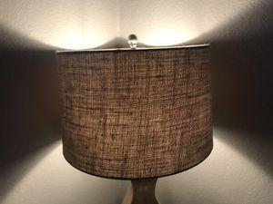 Tan Burlap Lamp Shade for Sale in Dallas, TX
