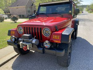 2003 Jeep Wrangler 4 Wheel Drive Extra Clean for Sale in Chelsea, AL