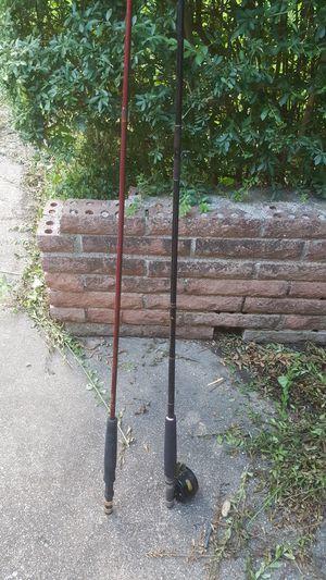Fly fishing rod pole reel for Sale in Dallas, TX