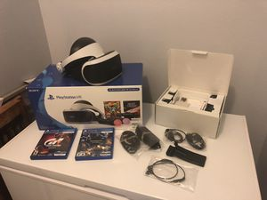 PS4 VR Bundle plus extras for Sale in Kissimmee, FL