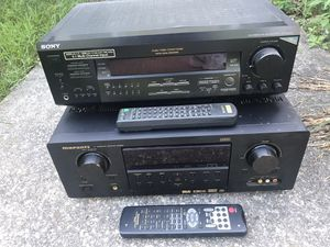 2 AN Receivers - Old School - Pre-HDMI for Sale in Ashland, MA
