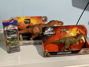 Jurassic World Toys- Brand New! for Sale in Franklin Park, IL