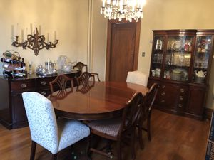 10pc Drexel Mahogany Dining Suite for Sale in Beckley, WV