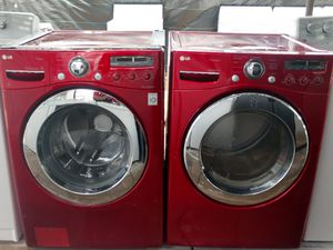 """""""LG"""" MATCHING SET WASHER & ELECTRIC DRYER KING SIZE CAPACITY PLUS for Sale in Phoenix, AZ"""