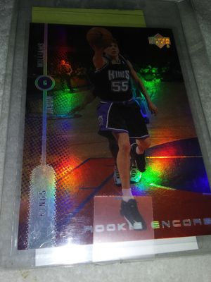 Jason Williams Rookie Encore Upper Deck RE1. Card asking 15$ for Sale in Stockton, CA