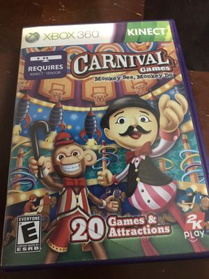 Carnival games- Xbox 360 game for Sale in Houston, TX