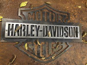 Steel Harley Davidson sign for Sale in Austin, TX