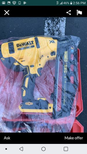 "DEWALT 20V MAX XR BRUSHLESS 16GA 2 1/2"" FINISH NAILER NEW NUEVO TOOL ONLY 👍💥👍💥👋💥👍 for Sale in Carson, CA"