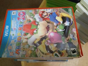 Wii U Mario Party 10 Game for Sale in Erial, NJ