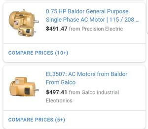 Baldor Motor EL3507 for Sale in Murfreesboro, TN