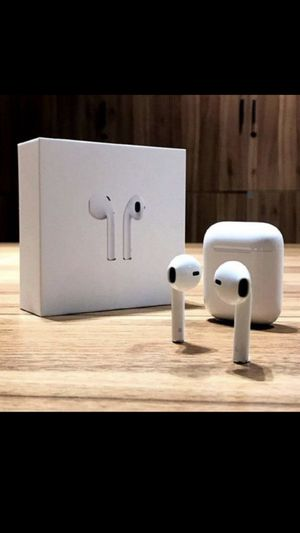 Brand new Bluetooth Wireless Earphones Headset headphones with charging case for Sale in Coral Gables, FL
