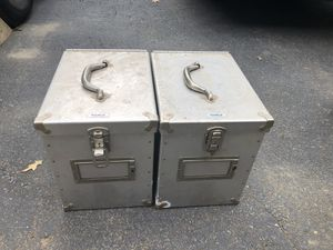 2 Tool boxes with 2 keys in each for Sale in Pennington, NJ
