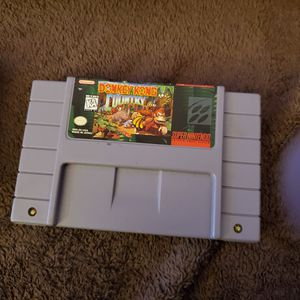 Super Nintendo Donkey Kong country 1&2 for Sale in Glendale, AZ