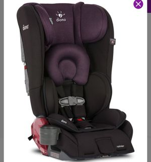 Diono Rainier All in One Black & Plum Car seat for Sale in Waddell, AZ