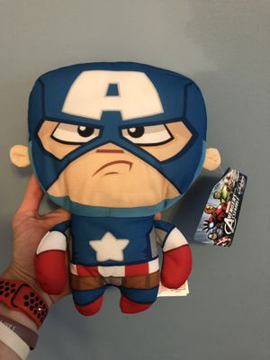 Captain America Avengers Assemble Marvel Plush Toy for Sale in Ardsley, NY